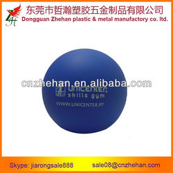 6.3cm diameter PU stress release ball for promotion