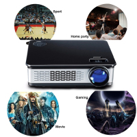 High definition Native 1920x1080 FHD Home cinema video multimedia projector