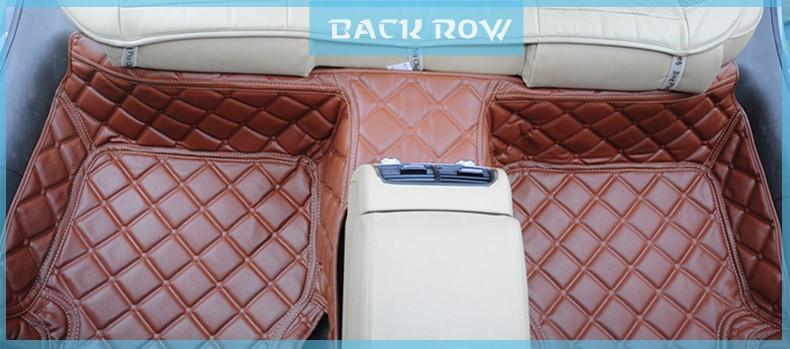 doux et confortable et pas d 39 odeur tapis de voiture en cuir pour volkswagen sagitra tapis auto. Black Bedroom Furniture Sets. Home Design Ideas