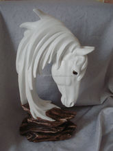 white polyresin horse sculpture and sourveniur for home,office and shop decor