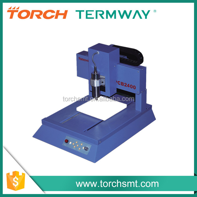 low cost pcb cnc drilling machine , router cnc milling machines specifications PCB2400