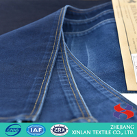 Factory wholesale price cheap blue denim fabric