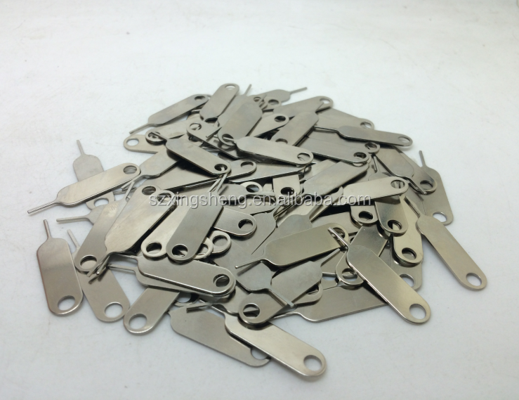 SIM card pin out for iPhon SIM card eject pin for iPhone 500pcs/lot