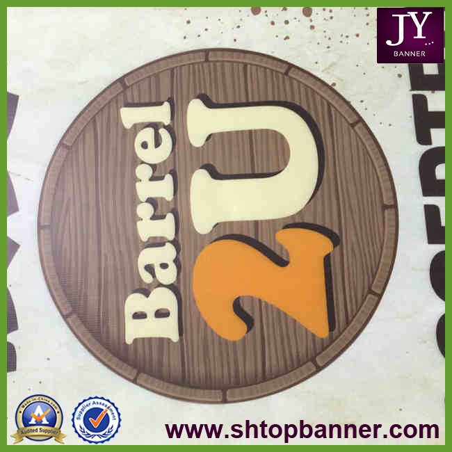 Hot selling pvc vinyl banner sign with CE certificate