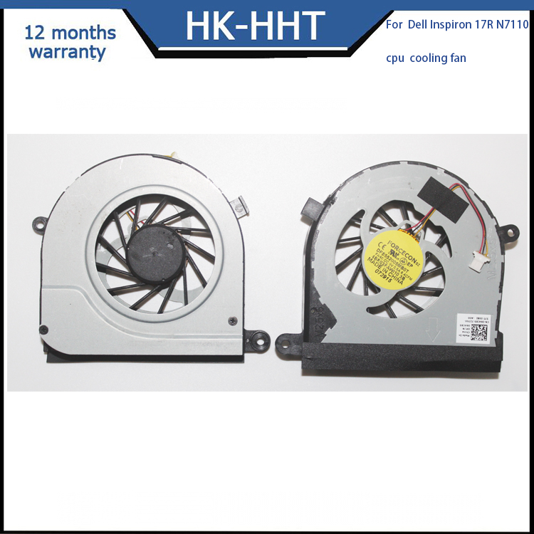 CPU cooling fan for Dell 17R N7110 MF60120V1-C130-G99 Laptop CPU Cooler