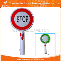 Stop sign Traffic Safety portable good hand held stop signs