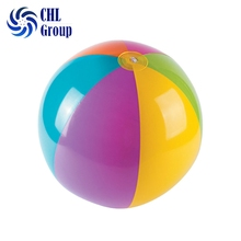 Promotional high quality giant plastic inflatable beach ball for kids