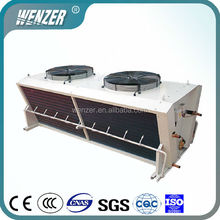 FNV Type Air Cooled Condenser With Fan Motor for Refrigeration Condensing Air Side Outlet Condenser Unit