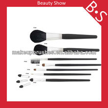 China shenzhen wholesale cosmetics accessories,2013 Hot 7pcs wholesale cosmetics accessories brush
