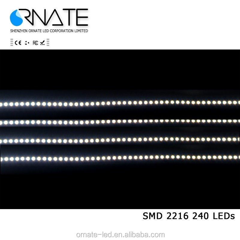 High density 240 led/m high CRI Ra90 24V 2216 led strip