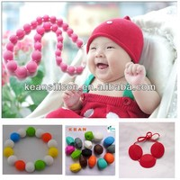china manufacturer popular designs food grade bpa free food grade silicone make your own bead necklace