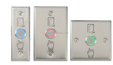 waterproof exit stainless steel push button