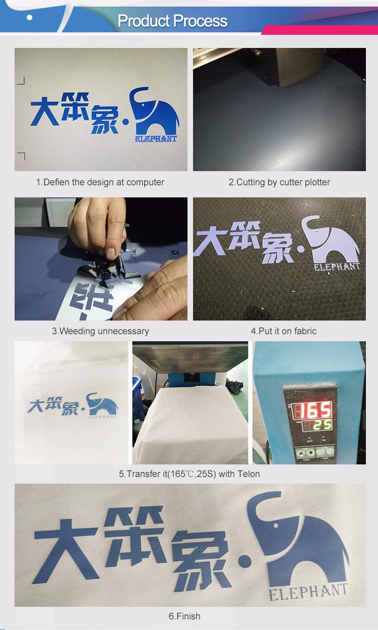 Wholesale excellent quality korea pvc heat transfer film