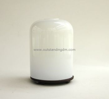 Essential Oil Electric Aroma Diffuser With Led Lamp Cylinder Glass Aromatherapy Diffuser