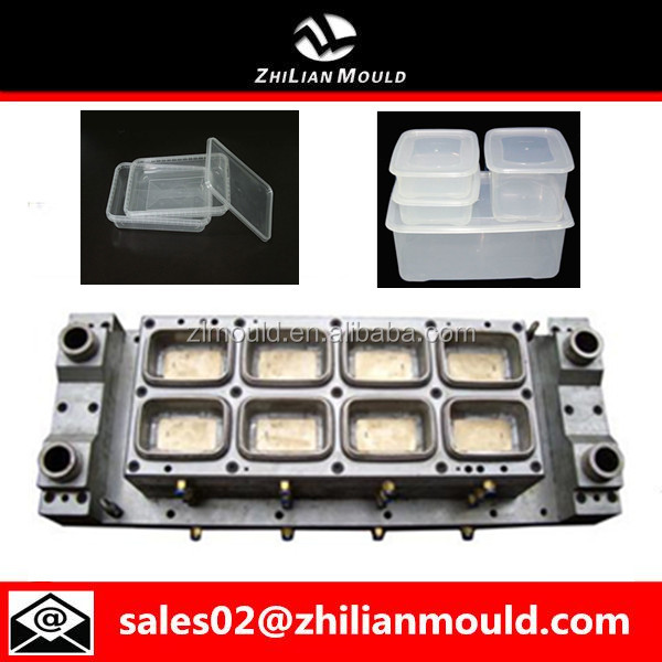 China Mold Factory Making Plastic Cheese Container Injection Mold