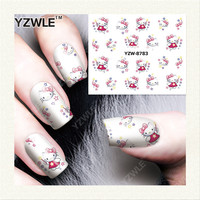 2016 Wholesale high quantity waterproof beauty women and children nail art decoration nail art wraps designer nail sticker