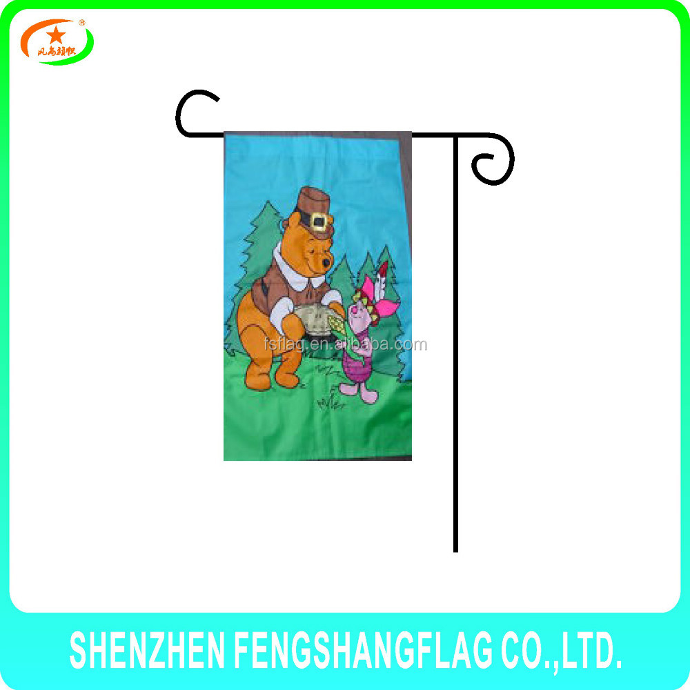 Crazy party poster for Halloween Garden flag stand for sale best-sellers