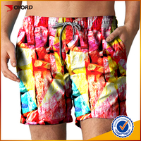 OEM custom sublimated Beach Shorts Swimming Trunks in Beachwear and Swimwear