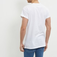 white roll sleeve very low price t-shirts for men
