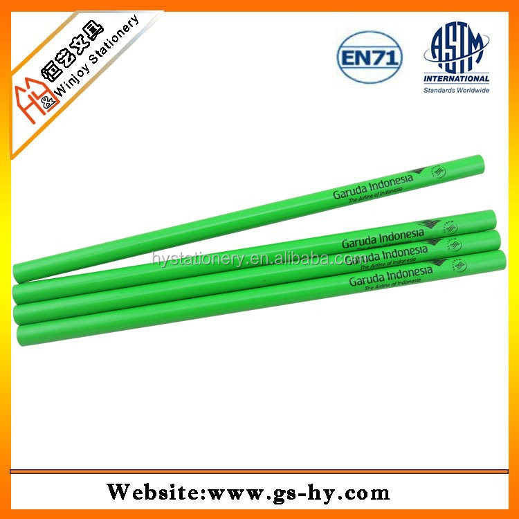 green color standard pencil lacquer paint