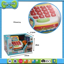 plastic cash register toy baby musical toy kids play house