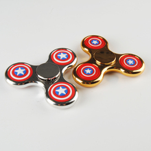 Shenzhen Factory Best Selling Products 2017 In USA Fidget Spinner Toys Supplier Hand Spinner LED For Kids