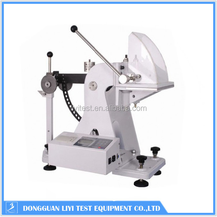 Paper board puncture resistance tester