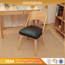 Foshan shunde factory high quality rustic matt gold solid wood dining chair