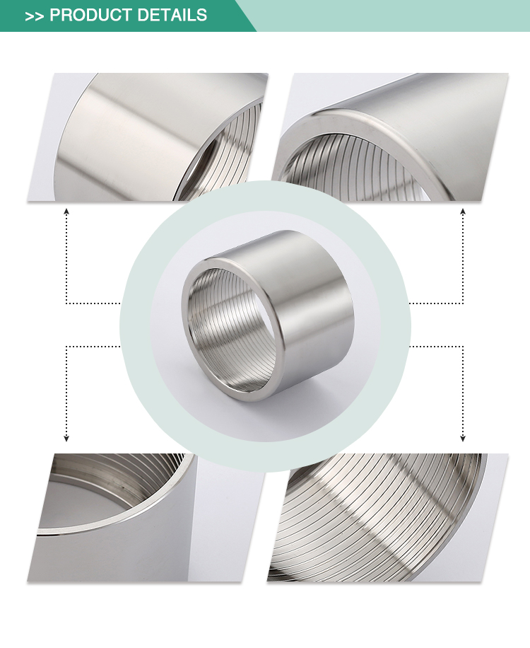 Factory wholesale safe stainless steel Sanitary union Coupler