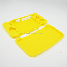 Silicone Skin Case for Nintendo 2DS XL Orange & White Handheld Console