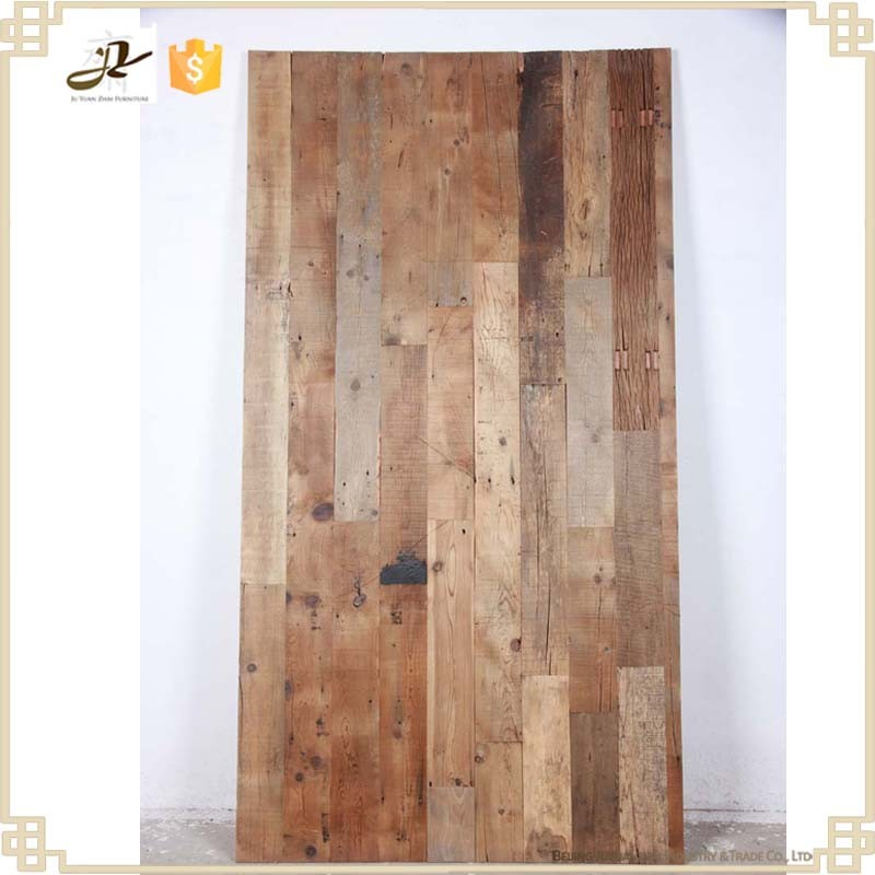 Recycled wood solid interior wall paneling wholesale