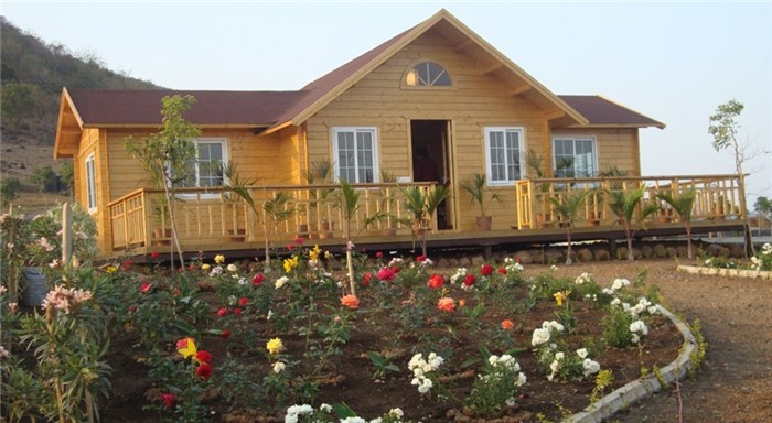 Low Cost Russian Prefabricated House Wooden