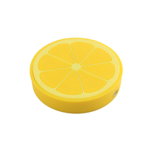 Mobile Phones Cute Custom PVC Lemon Shape Portable <strong>Car</strong> Fast Charging Wireless <strong>Charger</strong>