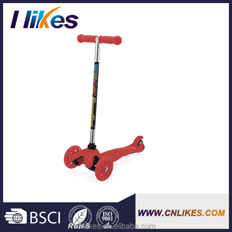 hot sale new product mini scooter three pu wheels for children and child