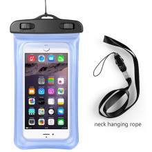 Factory price wholesale waterproof cell phone case,mobile phone pvc waterproof bag for gift waterproof bag cell phone bag