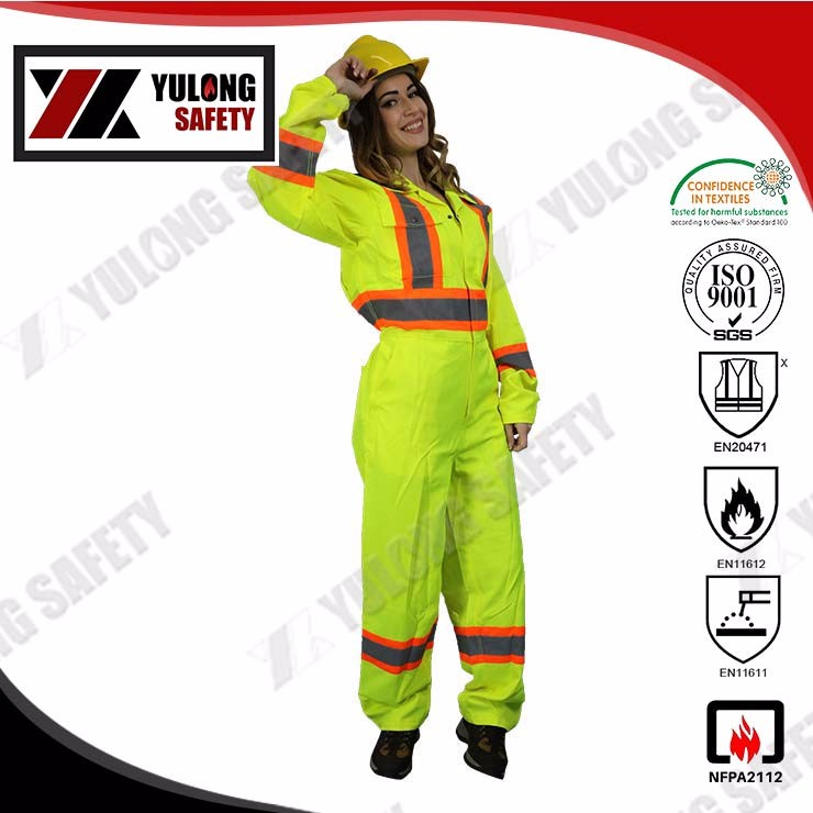 NFPA2112 Safety Reflective Flame Retardant Coverall