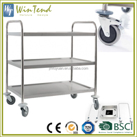 Types of service trolley hotel banquet equipment smoothly food service trolley prices
