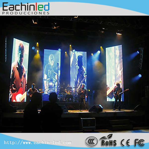 P3.9 Slim and Light Rental Use LED Display With Hanging Bar