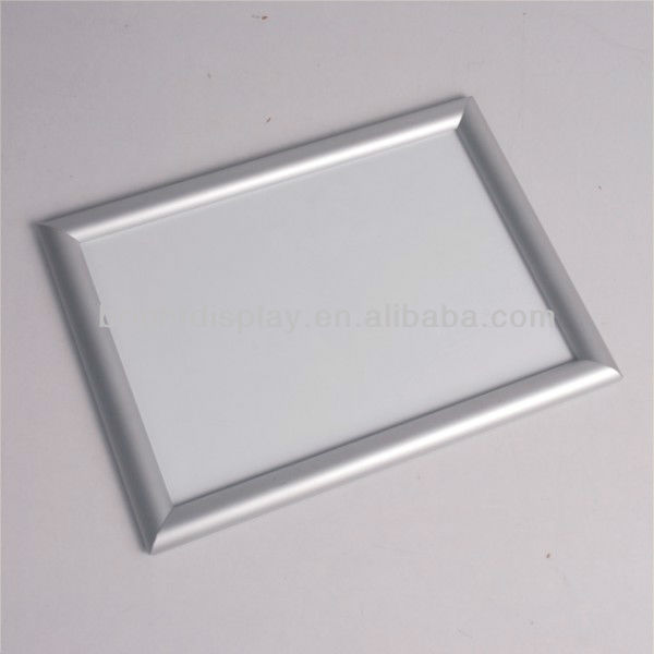 Wall mount snap poster aluminum <strong>frame</strong> <strong>size</strong> <strong>A0</strong> A1 A2 A3 A4 etc for advertising from factory