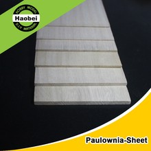 China high level supplier custom Paulownia wood sheet