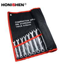 Wholesale 14pcs HONISHEN Combination Wrench Spanner Tools Set