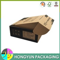 China manufacture natural corrugated cardboard moving boxes