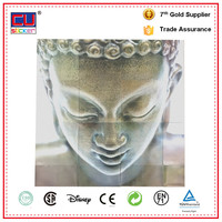 removable window bthroom tile Buddha decal sticker
