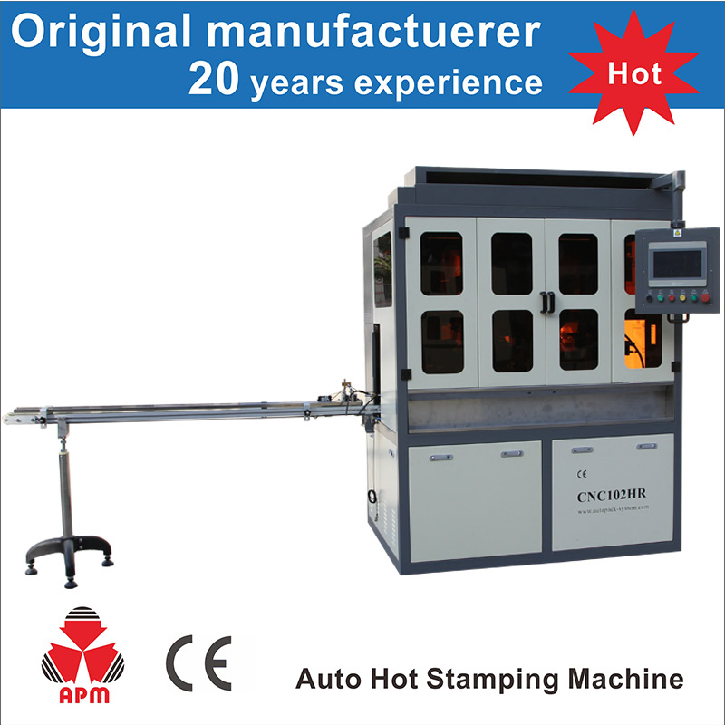 China Most Popular Stamping Printing Machinery For Glass Bottle