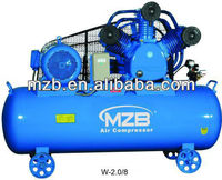 Belt-driven air compressor airman air compressorW-2.0/8