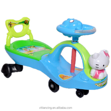 popular cute swing ride on toy/licensed ride on car swing car for baby children manual ride on car