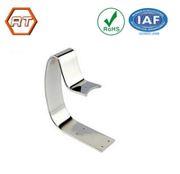 Customized stainless steel u shape metal spring clip