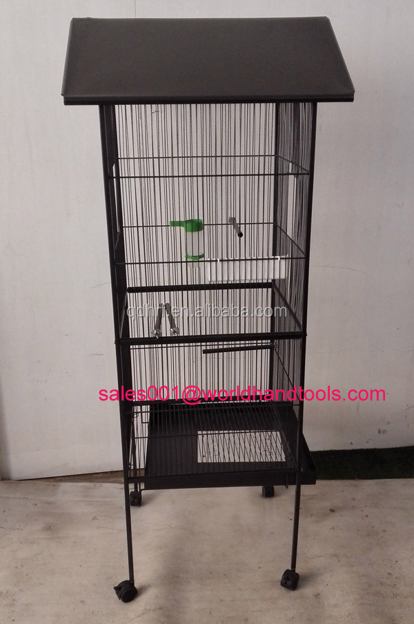 Pet Products Wrought Iron Select Bird Cage with Black Hammertone