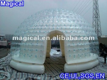 Latest design Inflatable transparent tent
