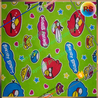 cotton polyester twill pigment printing fabric for making skirt